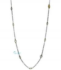 REBECCA Κολιέ από ανοξείδωτο ατσάλι Shibuya Silver BPEKBO59 κοσμήματα   μαρκεσ   rebecca
