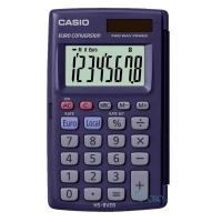 CASIO Basic Μικρή Φορητή Αριθμομηχανή HS-8VER κοσμήματα   αξεσουαρ   casio αριθμομηχανές